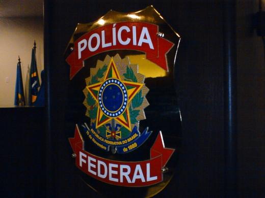 Brasão Policia Federal